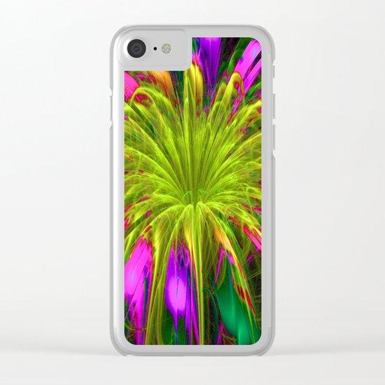 Fiesta Flower III Clear iPhone Case