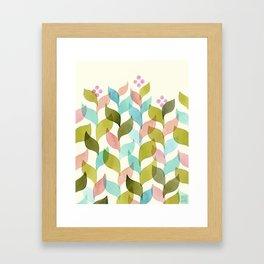 Climbing Vines Framed Art Print