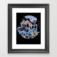 Harlequin Series 4 Framed Art Print