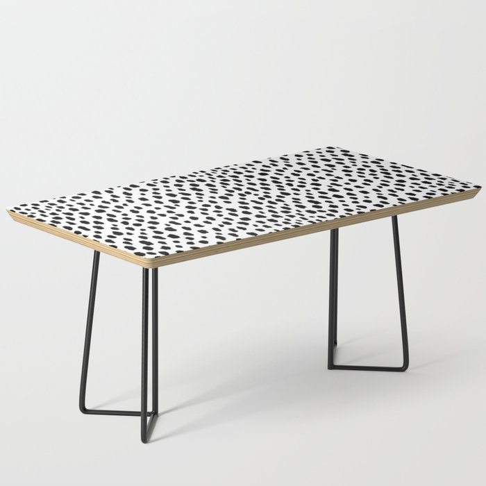 Dalmatian Spots (black/white) Coffee Table