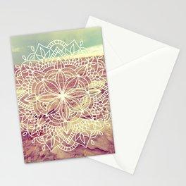 Rain Dance Desert Mandala Stationery Cards