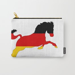 German Flag - Horse Carry-All Pouch