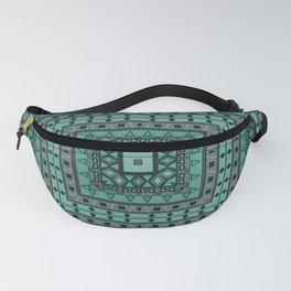 Square shape, geometric pattern, rustic pattern, pillow pattern Fanny Pack