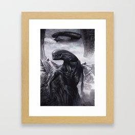 Alien - Xenomorph Framed Art Print