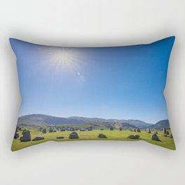 Castlerigg Stone Circle in English Lake District Rectangular Pillow
