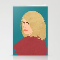 tyler spangler Stationery Cards featuring Rose Tyler by imsirius