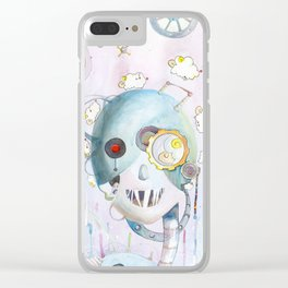 Androids Dream of Electric Sheep Clear iPhone Case
