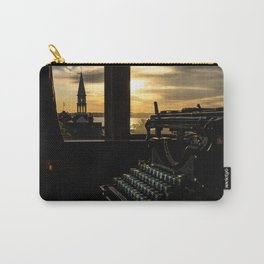 The Sunrise, Steeple & Typewriter Carry-All Pouch