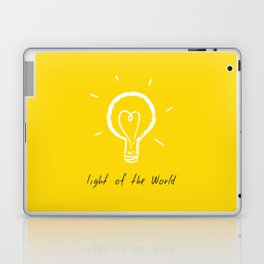Light of the World - yellow Laptop & iPad Skin