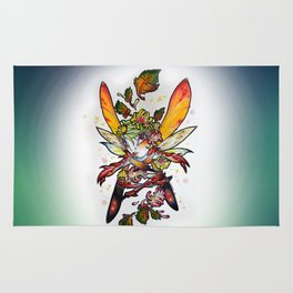 Chrysantheme Fairy Rug