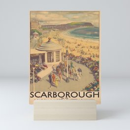 cartellone british and scotish railways. Mini Art Print