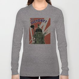 Daleks To Victory - Doctor Who Long Sleeve T-shirt
