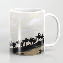 Golden Palm Skyline Coffee Mug