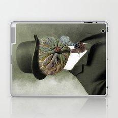 Sir Custard Bowler Laptop & iPad Skin