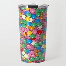 Bubble Gum Balls Juicy Tropical Fruity Travel Mug