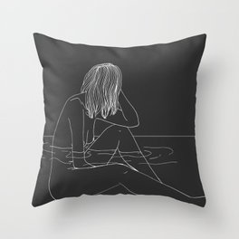 Two Places (pt 2) Throw Pillow