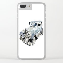 Vintage Ford Model A Clear iPhone Case
