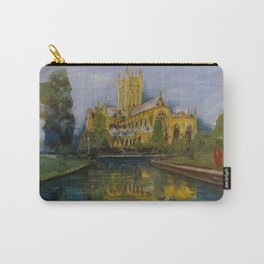 City of Wells in Somerset - Cathedral Carry-All Pouch