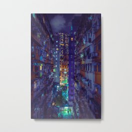 Hong Kong Replicant Metal Print