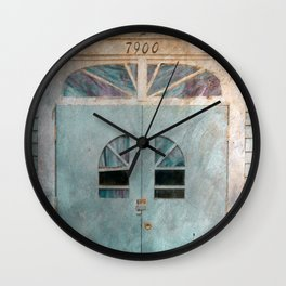 Sunbright Church Door Wall Clock