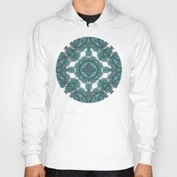 paisley Hoodies featuring paisley by gtrappdesign