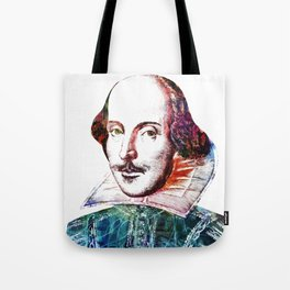 Graffitied Shakespeare Tote Bag