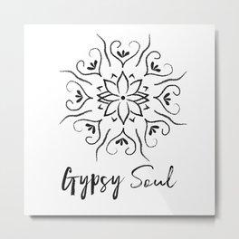 Gypsy Soul 2 Metal Print