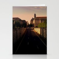 washington dc Stationery Cards featuring Washington DC by adamsk8