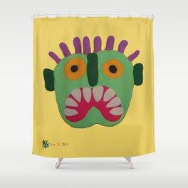 Greenman III Shower Curtain