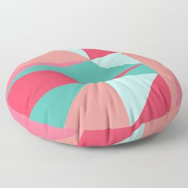 Geometry II (triangles) Floor Pillow