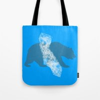 california Tote Bags featuring California by AmDuf