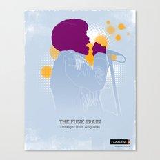 The Funk Train Canvas Print