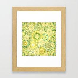 Mandala 184 (Floral) Framed Art Print