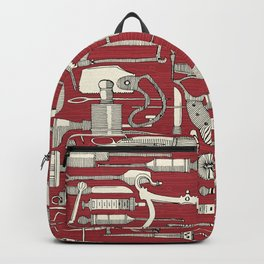fiendish incisions claret Backpack