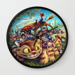 Ohayo Mitaka! Wall Clock