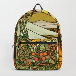 Louis Comfort Tiffany - Decorative stained glass 6. Backpack