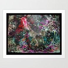 IrisdescentMaps Art Print