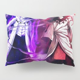 Obito and Madara Uchiha Sage Of Six Paths Naruto Pillow Sham