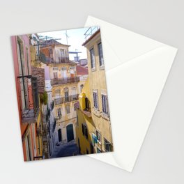 August in Lisbon Stationery Cards