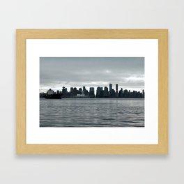 Our City Framed Art Print
