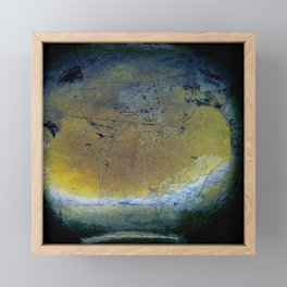 Black Gold Leaf - Corbin Henry Framed Mini Art Print