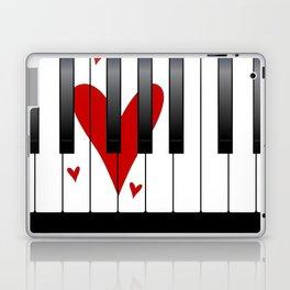 Love Piano Laptop & iPad Skin