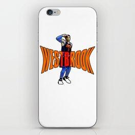 Westbrook iPhone Skin