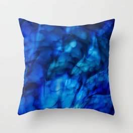 Flowering Palm Throw Pillow