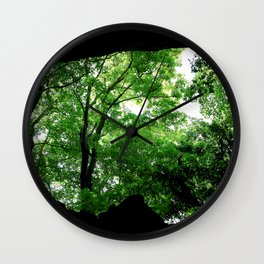 Travel Photography : Los Tres Ojos Forest - Dominican Republic Wall Clock