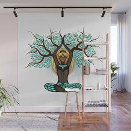 Lady Shaman Tree Wall Mural