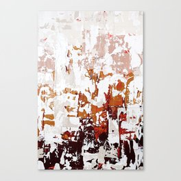 blush abstract. 01 Canvas Print