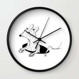 28doodles - Rat  Wall Clock