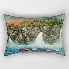 Float Trip Rectangular Pillow