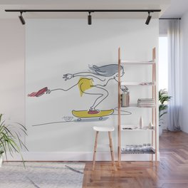 Dana flow One [pasty] Wall Mural